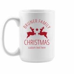 Family Christmas Custom Mugs