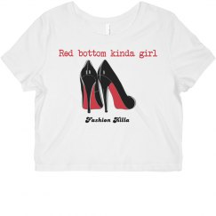 Red Bottom Wm FK Tee