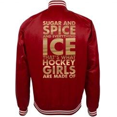 A Sugar Spice Hockey Girlfriend