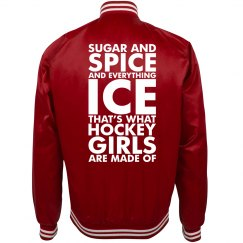 A Sugar Spice Hockey Girlfriend