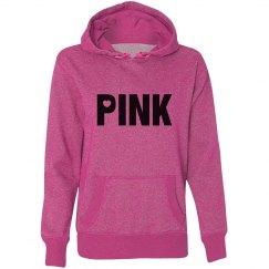 Pink Glitter Hoodie
