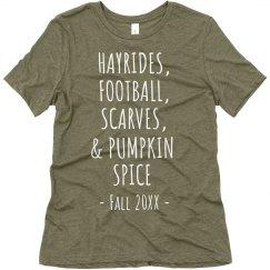 Hayrides, Football, Scarves & Pumpkin Spice