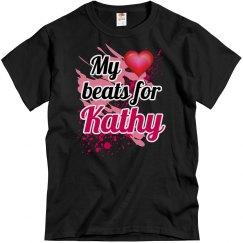 My heart beats for Kathy