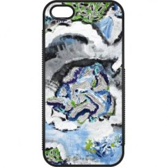 Blue Green Painting Case