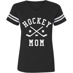 Hockey Mom Vintage Tee