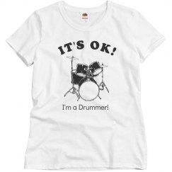 I'm a drummer