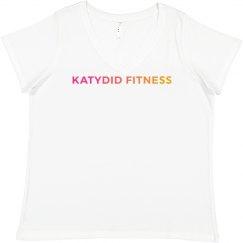 Katydid Fitness Plus Size Basic Tee