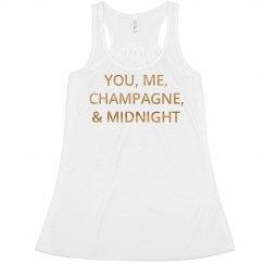 Champagne Midnight Gold
