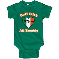Half Irish on St Patrick's Day