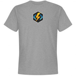 Azure Functions Hex Tee Grey