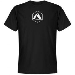 Azure Logo Hex Tee Black