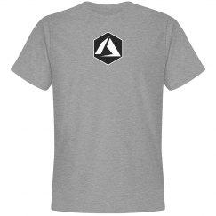 Azure Logo Hex Tee Grey