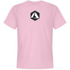 Azure Logo Hex Tee Pink