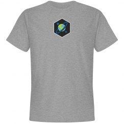 Cosmos DB Logo Hex Tee Grey