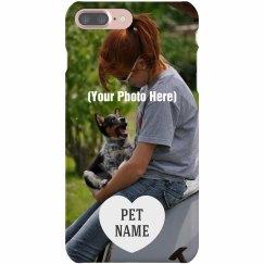 Custom Photo Pet Dog Phone Case