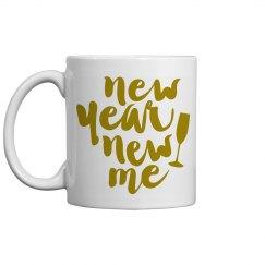 New Year New Me Mug