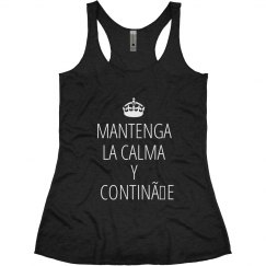 Spanish Keep Calm