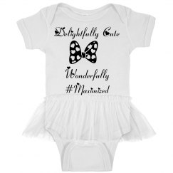 Baby girl #maximized Princess Onesie!