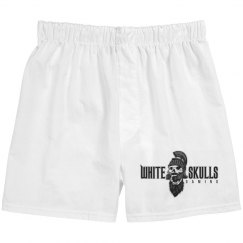 White Skulls Gaming Basic Boxer Briefs