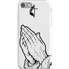 Praying To Cross iPhone
