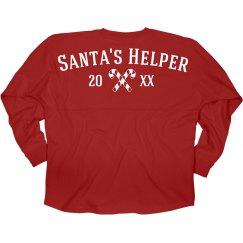 Santa's Helper Elf Jersey