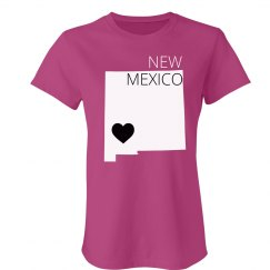 Custom New Mexico Heart