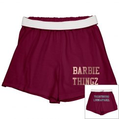 TheOutboundLiving Barbie Thingz cozy shorts!