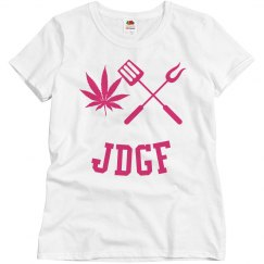 JDGF SHIRT ladies raspberry