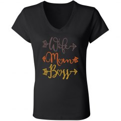 Wife Mom. Boss. T-Shirt