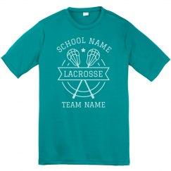 Customizable Lacrosse Team Tees
