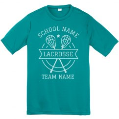 Customizable Lacrosse Team Tees