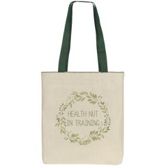 HNIT Green Wreath Tote