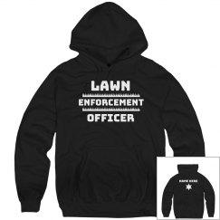 Lawn Enforcement Dad Joke Gift