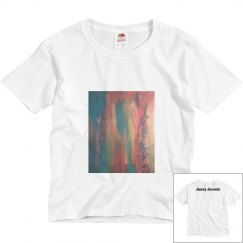 AbstractEnergy Youth Tee-Jazzy Art
