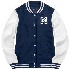 Ladies Letterman Varsity jacket