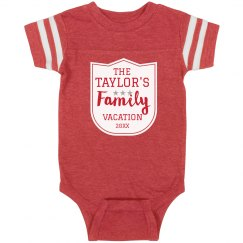 Custom Family Vacation Bodysuit