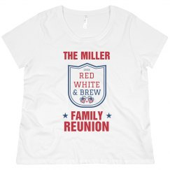 Custom July Family Reunion Celebration