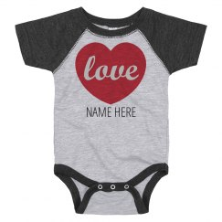 Custom Valentine's Love Bodysuit