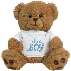 Custom It's A Boy Bear