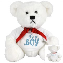 Custom It's A Boy Bear