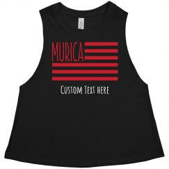 Personalized July 4th Holiday Murica