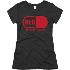 Red Pilled T-shirt - Ladies