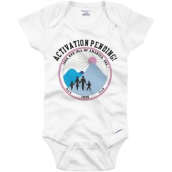 Activation Pending Onesie