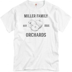 Custom Family Orchard Tee
