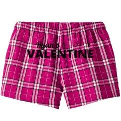 Pink Plaid Valentine