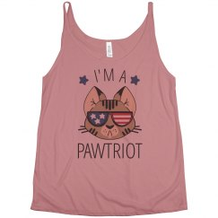 I'm A Pawtriot July 4th Tank