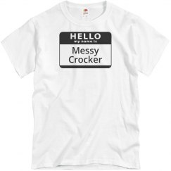 Messy Crocker Tee