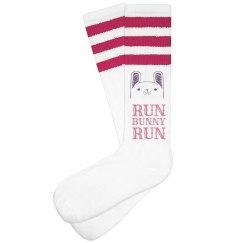 Bunny Fun Run Socks