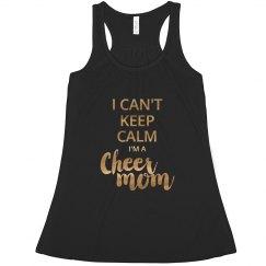 Keep Calm Cheer Mom