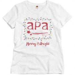 Ladies APA Lights T